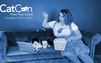 Support Our Shelter by Attending CatCon From Your Couch!