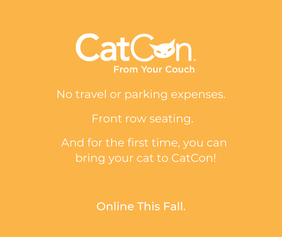 CatCon From Your Couch Banner Design